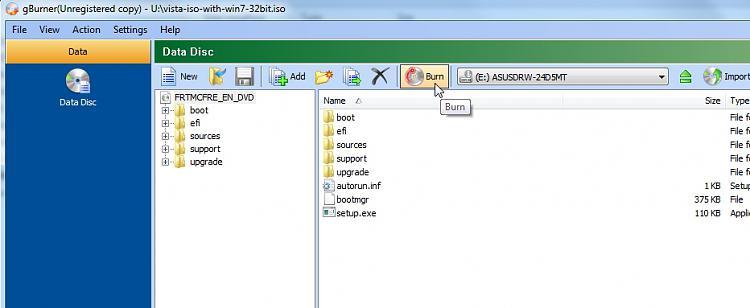 Install Windows 7 on an old non UEFI bios.-burn.jpg