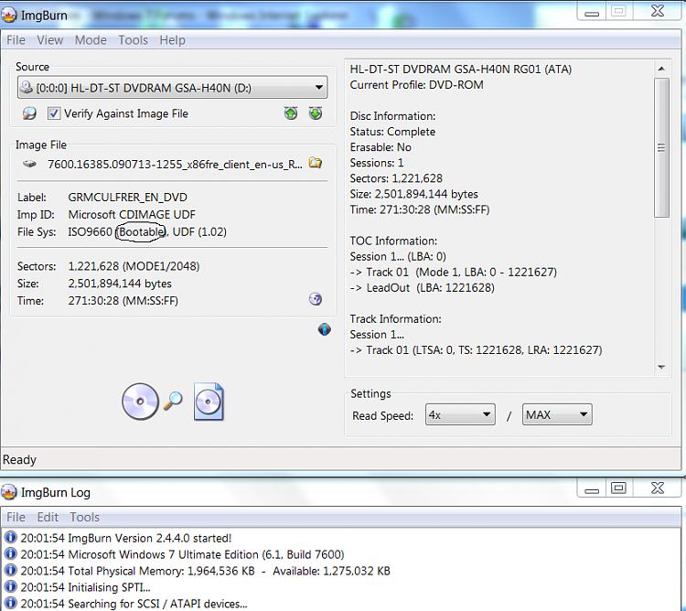 Win7 Digital River Master Disc Won't Boot - Windows 7 Help