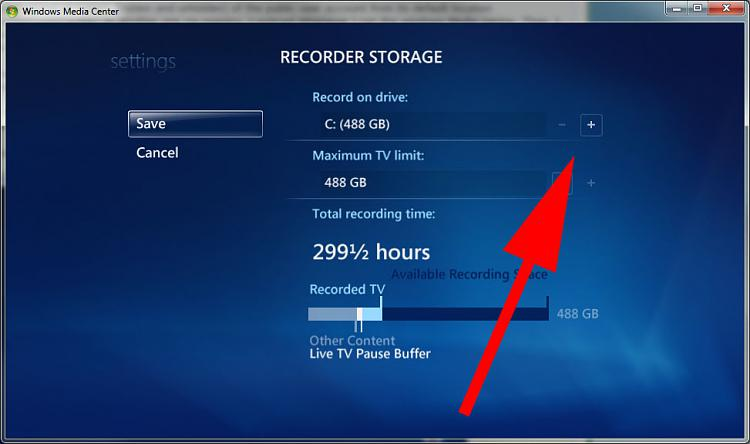 The Windows media center(Live TV) doesn't recognize the new location.-mediacenter.jpg