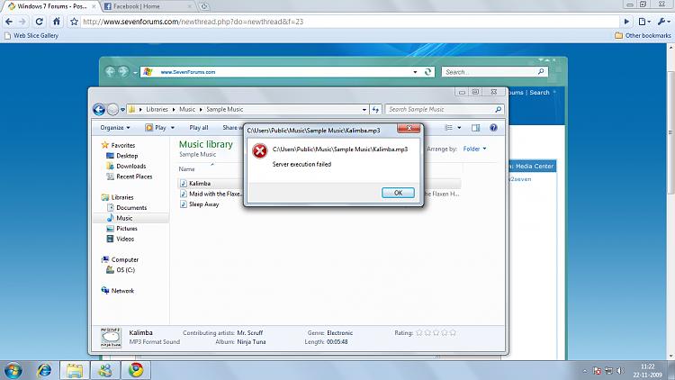 Setup failed, plex media server on windows 7 requires service pack.