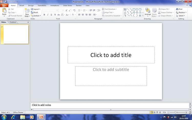 Office 2010 (Installation & Screenshots)-office-2010-powerpoint-.png