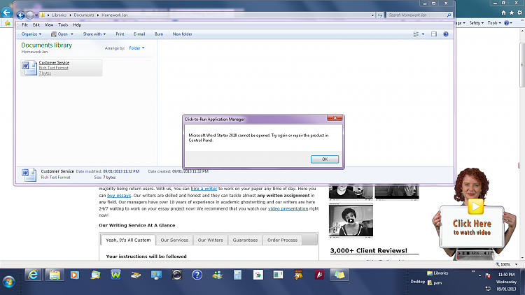 windows office starter update