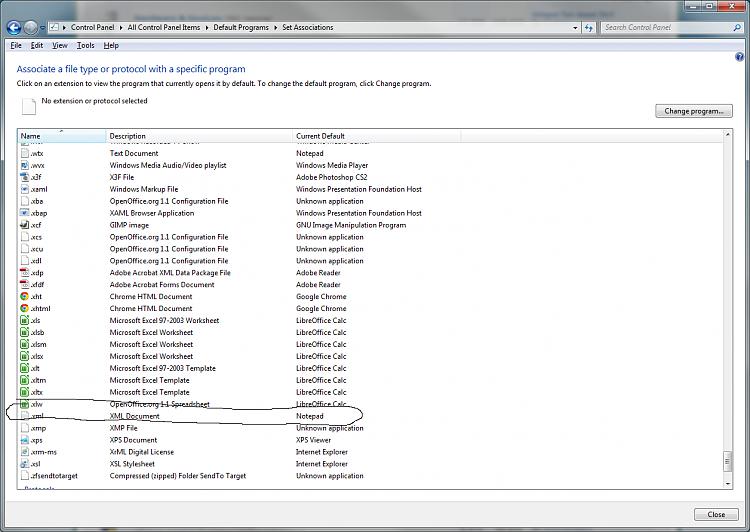 Missing xml editor solved windows 7 help forums missing xml editor xmlg sciox Images