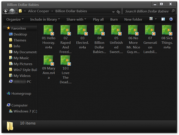 windows 7 pro 32 bit - cant see album art-billion-dollar-babies.png