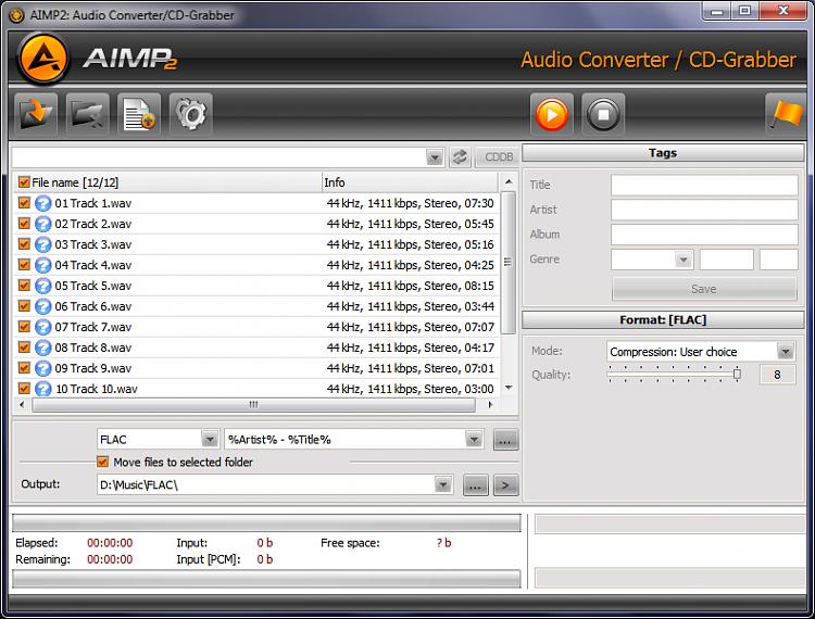 AIMP 2 Format Conversion Woes-...aimp.png