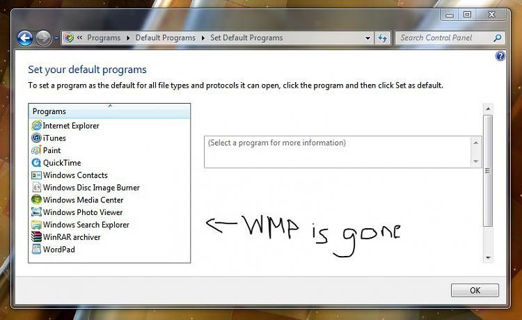 Default Programs does not include WMP 12-1.jpg