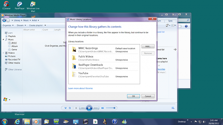 "WMP Music Library Folders ""Unresponsive""-unresponsive.png"
