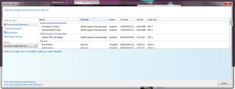 Adobe Flash Player 10 not working - Windows 7 Help Forums