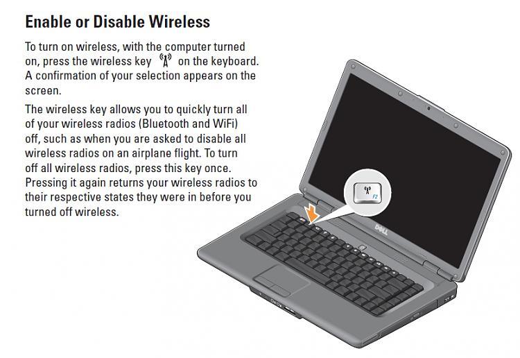 dell inspiron 1545 wireless switch wiring info u2022 rh datagrind co Inspiron N5110 Wireless Switch Location Dell E1505 Wireless Switch Location
