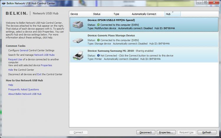 Belkin Network USB hub F5L009-connectedagain.jpg
