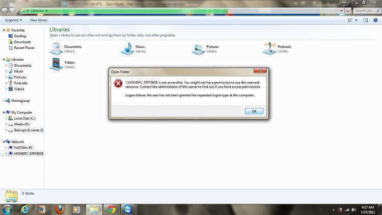 Sharing B/w Windows XP and Windows 7 via Single Wifi-Modem-1.png