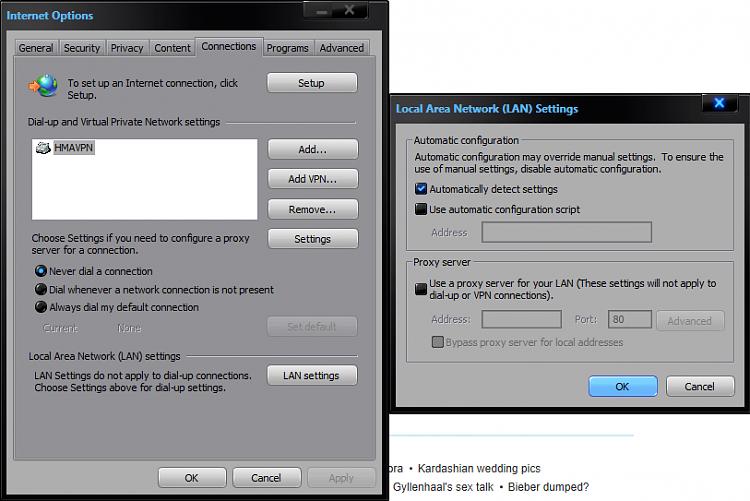 Strange problem with browsers via VPN Solved - Windows 7 Help Forums