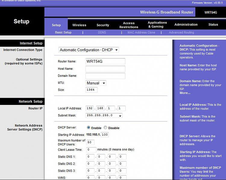 Network NAT problems and Xbox 360-linksys-basic-setup.jpg