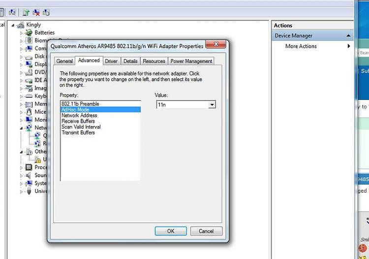 atheros ar5b95 wireless network driver windows 7