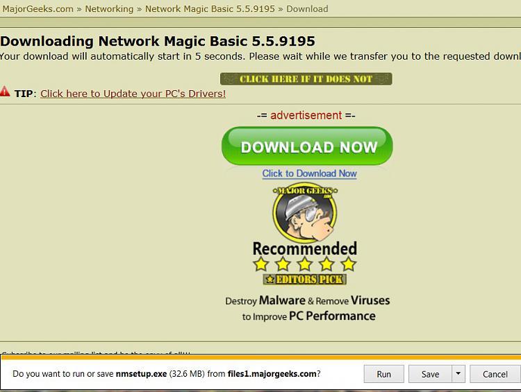 Network Magic no longer working- need another safe program.-network-magic-majorgeek.jpg