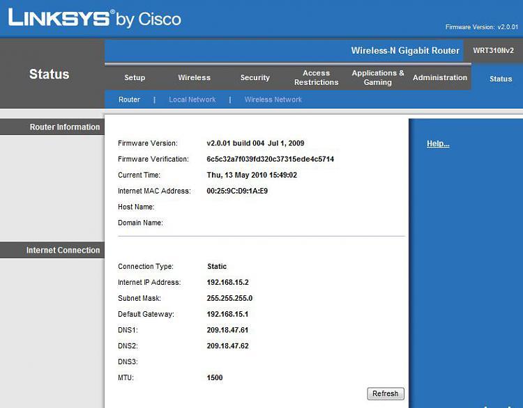 internet wont work after ipconfig/release-linksysstatuspage.jpg