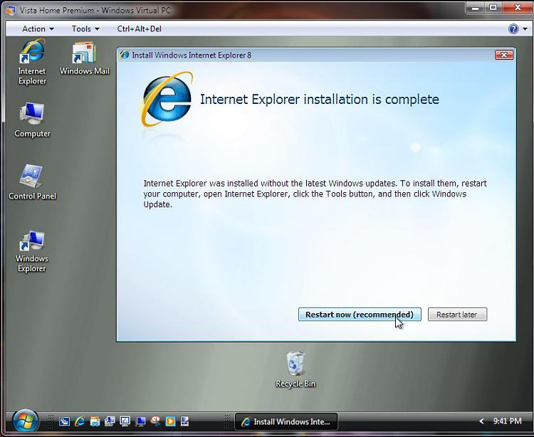 Run Windows in your browser-vista-ie-8-install-vpc6-restart-time.jpg