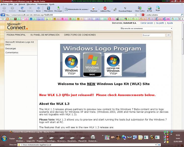 WLK 1.47048 and Windows 7 build 7048 confirmed-wlk.png