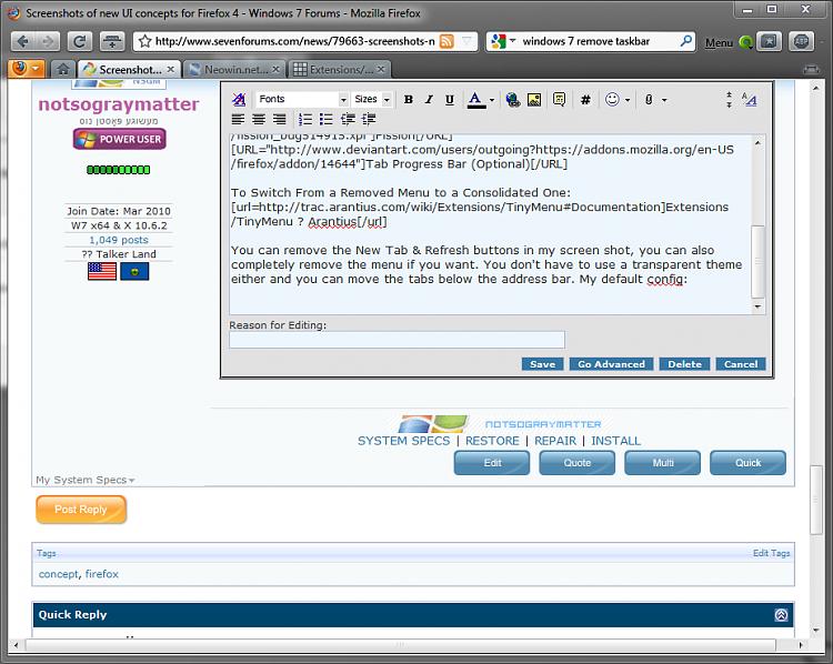 Screenshots of new UI concepts for Firefox 4-firefox4mockupme.png