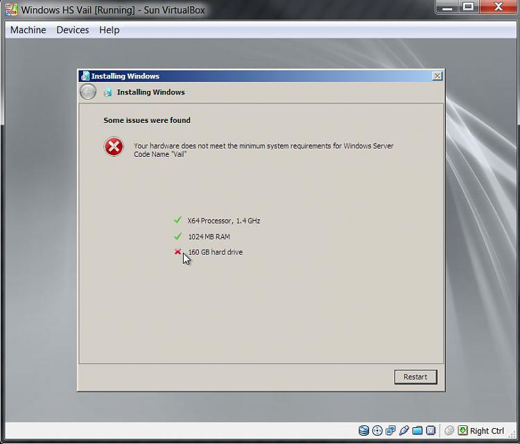 "Windows Home Server Code Name ""Vail"" public preview-fail.jpg"