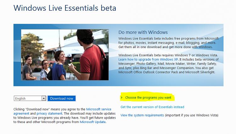 Windows Live Essentials Beta due for release-capture.png