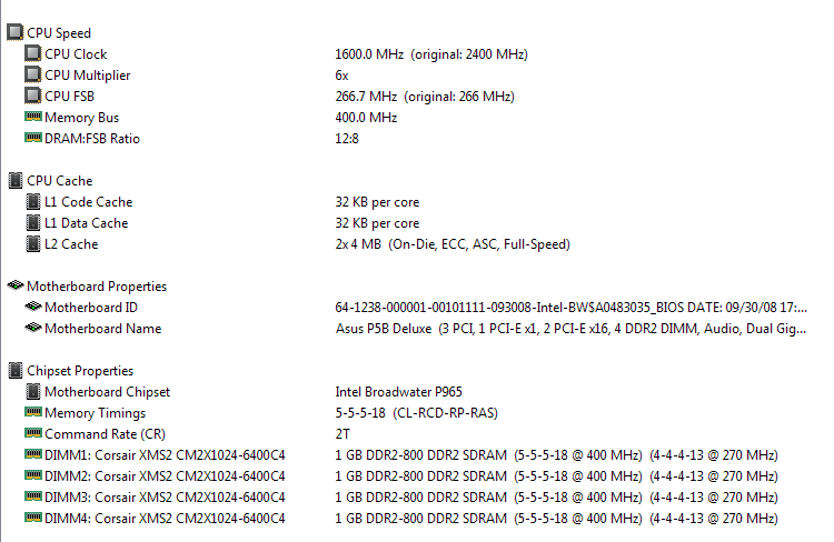 DRAM frequency 400,true or false?-aida64.png