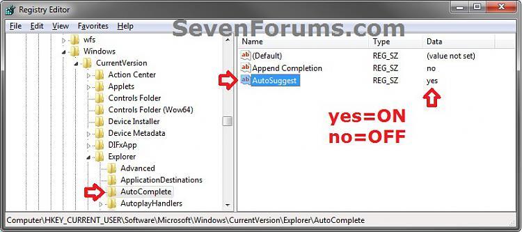 Windows Explorer address bar-autosuggest.jpg