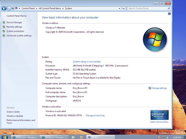 "Oldest ""Dinosaur"" Running Win7-pent-ii_400mhz_512mb_ram.png"