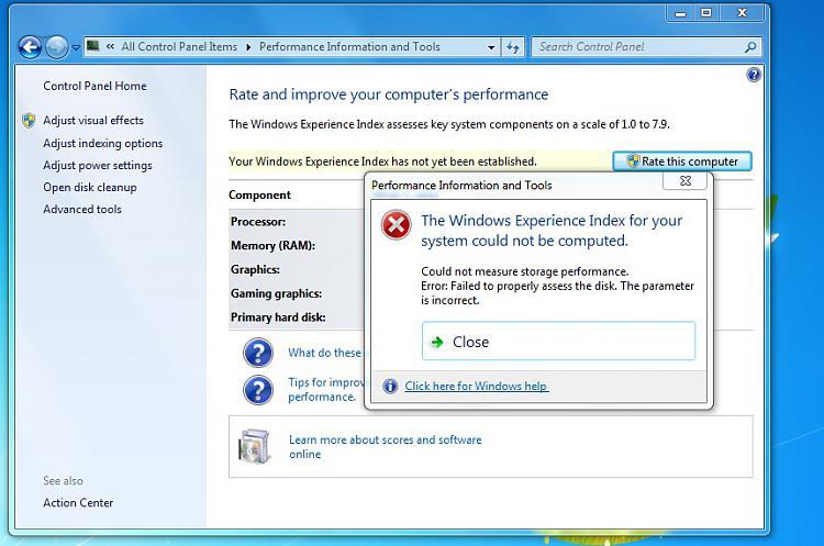 Windows Inexperience Index Problems-problem.jpg