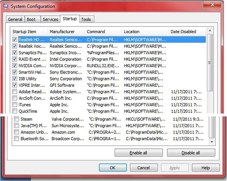 Laptop NBA 2k11 running slow when it was fine a few days ago-startup.jpg
