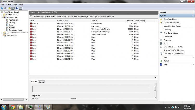 Sudden and extreme slowdown Shutdown, boot and hibernate-system-event-viewer.jpg