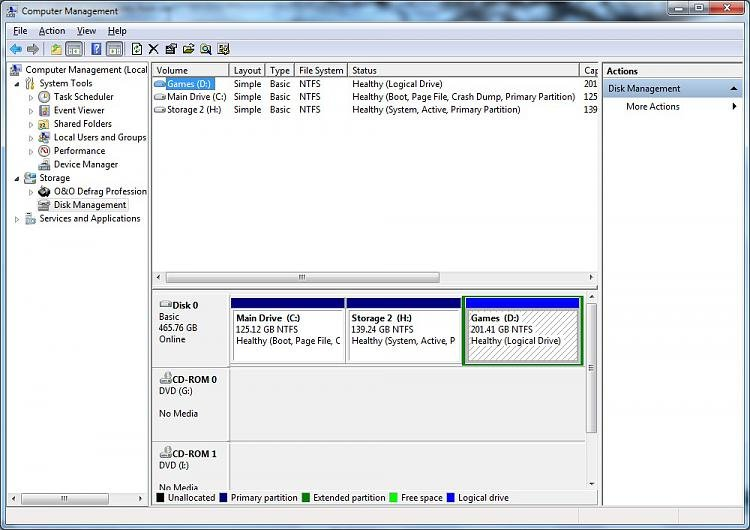 Windows wakes up immediately from sleep-disk-management.jpg