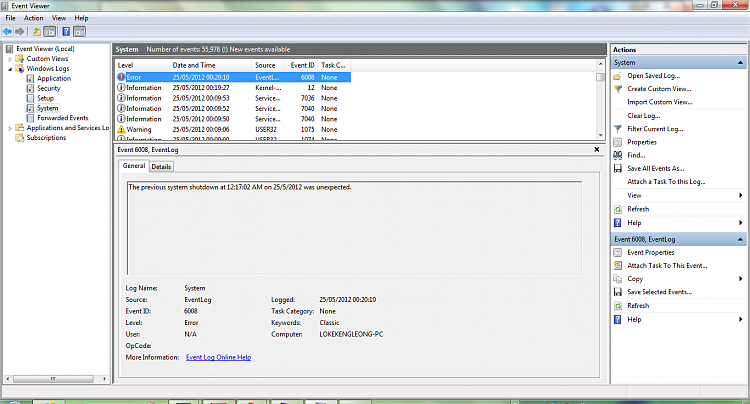 Windows 7 Home Premium 64-bit, encountering random freezes-unexpectedshutdown2.png