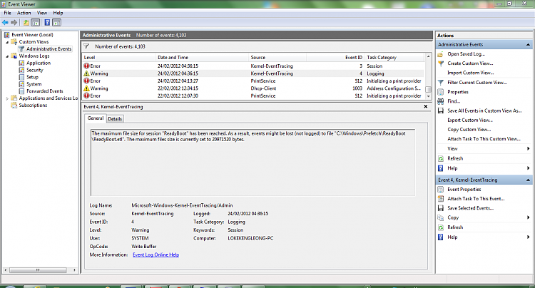 Windows 7 Home Premium 64-bit, encountering random freezes - Windows