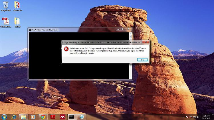 Batch file: how to start a program [sidebar.exe]-error.jpg