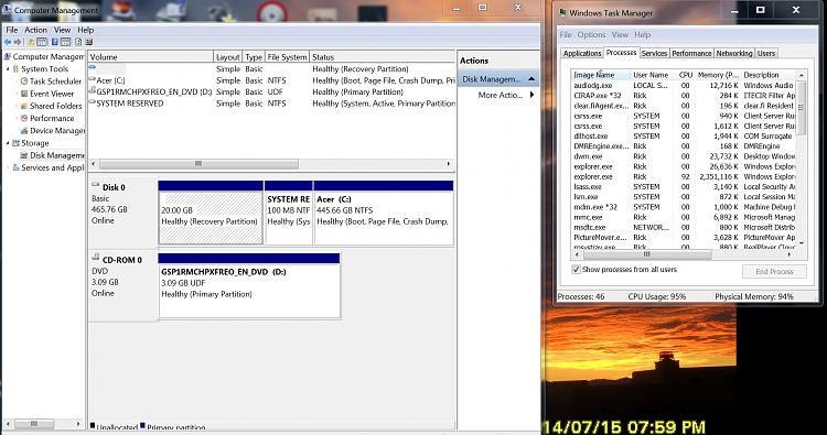 Explorer.exe causes Iexplore to open multiple instances and high mem-capture.png