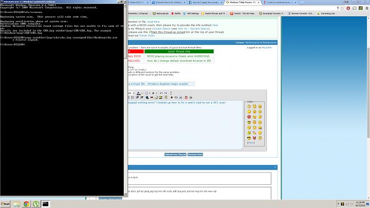 Ran SFC Scan and found a corrupt file . Windows Explorer keeps crashin-sfc.png