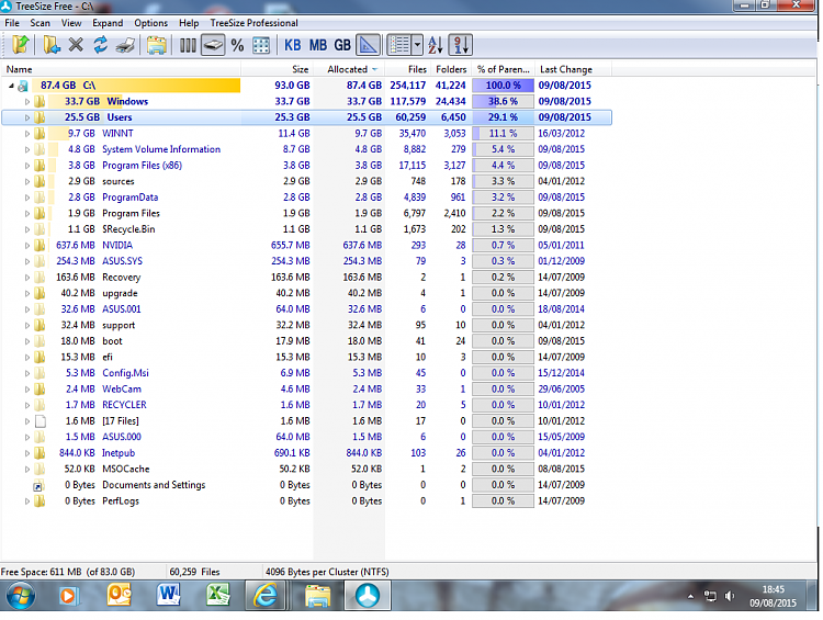 83gb C drive nearly full again!-treesize-screenshot.png