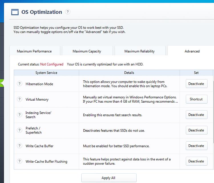 Let Samsung Magician optimize SSD?-samsung.png