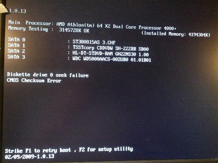 Changed BIOS Battery, Can't Boot/Access Setup; However USB Keyboard OK-d531badbootscreen.jpg
