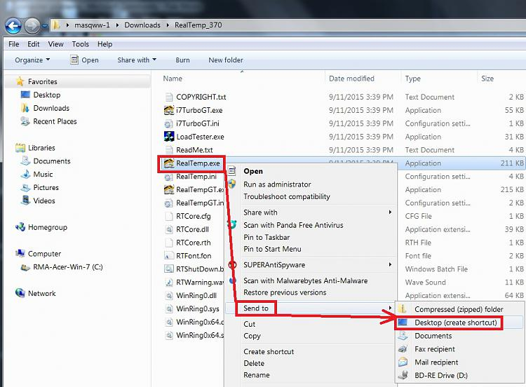Cpu is running 100 cannot get it down.-realtemp-send-desktop.jpg