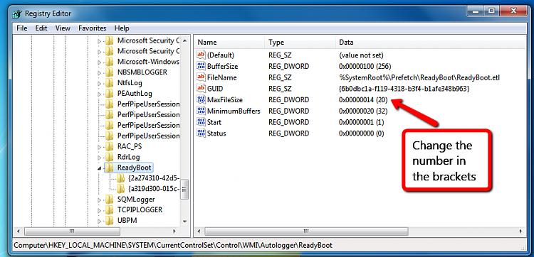 Event 3 on boot: NT Kernel Log full, error 0xC000000D-regedit_maxfilesize.png