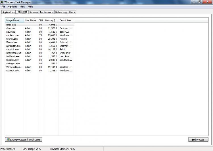 CPU usage is 100 %-processes.jpg