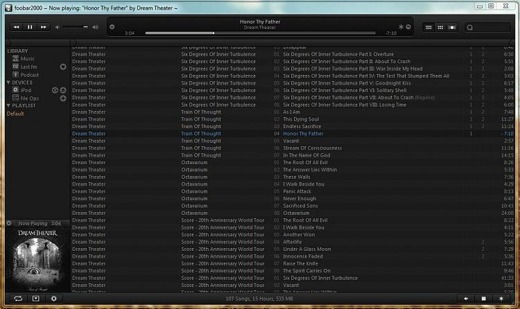 Good alternative media player software. .-foobar2000.jpg