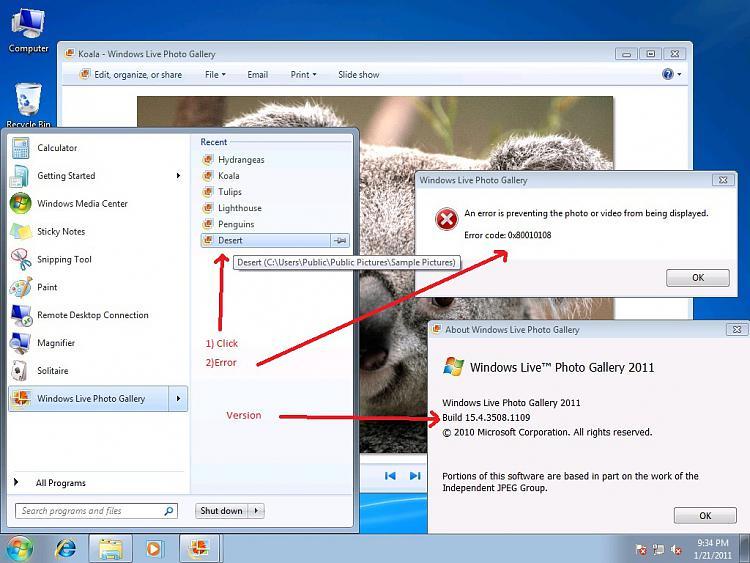 Windows Live Photo Gallery error code 0x80010108-error.jpg