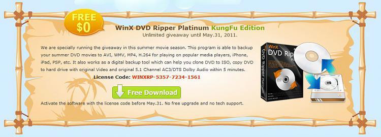 Free WinX DVD Ripper Platinum KungFu Edition until 5/31-dvd.jpg