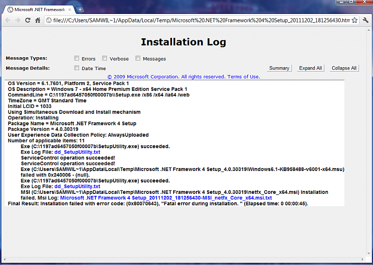 Microsoft .Net Framework 4 Fatal Error During Installation 0x80070643-installation-log.png