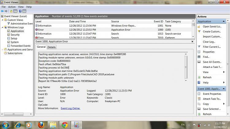 CAD2010 application crashes, Exception code: 0x80000003-crash.jpg