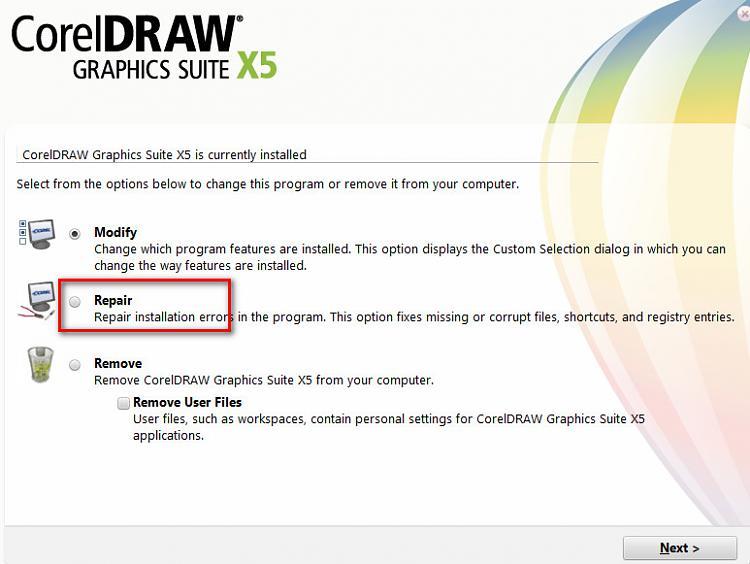 Error message: Coreldraw has stopped working.-2013-01-15_193543.jpg