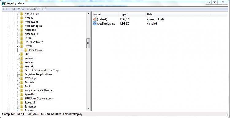regedit code for Java 7 Update 25-regedit.jpg